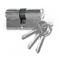 Цилиндровый механизм АНТАЛ МЦ-60-N-6 60 mm (25+10+25) CP хром 6 ключей!