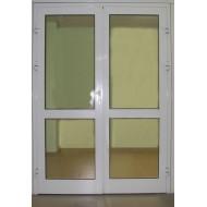 Алюминиевая противопожарная дверь