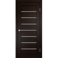 Дверное полотно 3D FLEX UNICA 1 900х2000 цвет Венге стекло Мателюкс