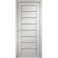 Дверное полотно 3D FLEX UNICA 1 600х2000 цвет Белый стекло Мателюкс