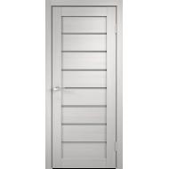 Дверное полотно 3D FLEX UNICA 1 800х2000 цвет Белый стекло Мателюкс