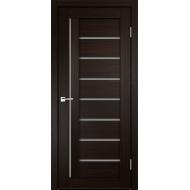 Дверное полотно 3D FLEX UNICA 3 600х2000 цвет Венге стекло Мателюкс