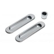 Ручки для раздвижных дверей SH01 CP хром, арт. 070071600 LOCKSTYLE (ЛОКСТАЙЛ), материал- сталь