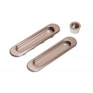 Ручки для раздвижных дверей SH01 SN матовый никель, арт. 070070100 LOCKSTYLE (ЛОКСТАЙЛ), материал- сталь
