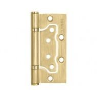 Петля универсальная без врезки 200-2B/HD 100x2,5 SB (мат. золото)