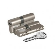 Цилиндровый механизм 164 OBS SNE/90 (40+10+40) mm никель 5 кл.