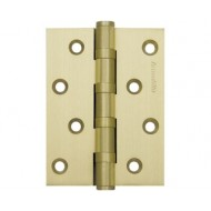 Петля универсальная 500-C4 100x75x3 SG Матовое золото Box