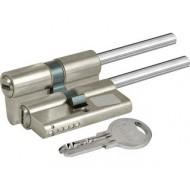 Цилиндровый механизм под вертушку (дл.шток) 164 SX/91 (55+10+26) mm никель 5 кл.