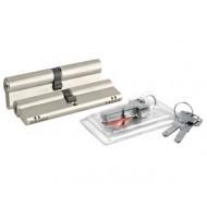 Цилиндровый механизм перекодируемый 164 OBS BNE-Z/80 (35+10+35) mm никель 5 кл.+ 2 кл.