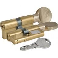 Цилиндровый механизм с вертушкой 164 SM/62 (26+10+26) mm латунь 5 кл.